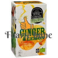 Ceai Ginger Lemon Royal Geen