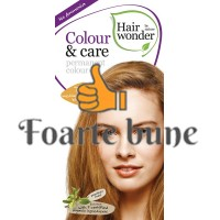 Vopsea de par femei Colour & Care Medium Golden Blond 7.3
