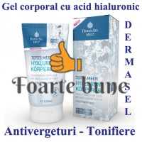 Gel corporal cu Acid Hialuronic
