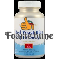 Red Yeast Rice CoQ10 Omega 3