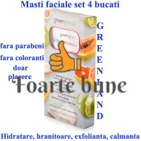 Set 4 masti faciale Fruit Emotion